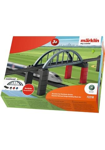 Märklin Modelleisenbahn-Hochbahn »Märklin my world - Baustein-Set Hochbahn-Brücke -... kaufen