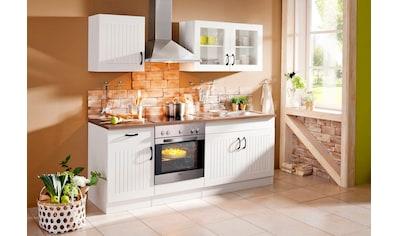 Küchenzeile »Athen«, mit E - Geräten, Breite 210 cm kaufen