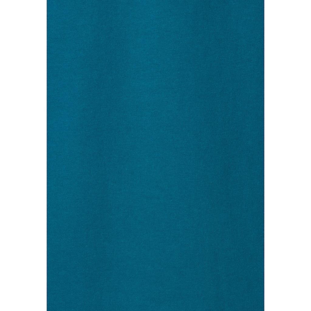 s.Oliver T-Shirt »Homewear«, mit Logo Print vorn
