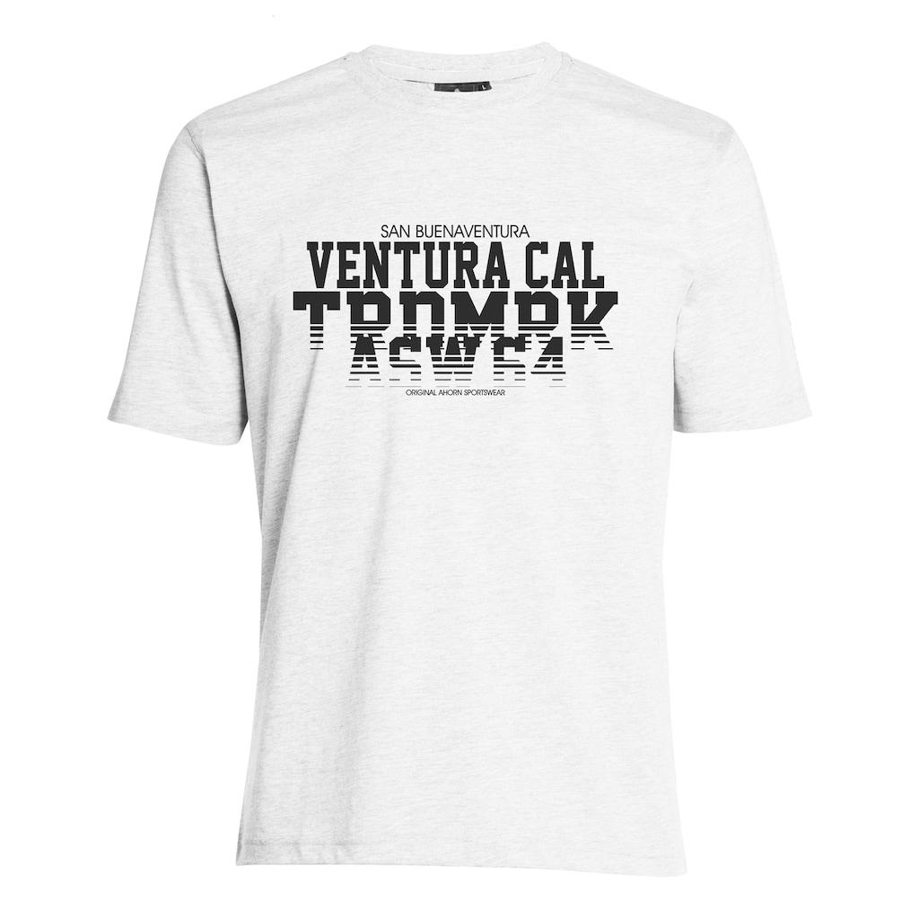 AHORN SPORTSWEAR T-Shirt mit coolem Aufdruck