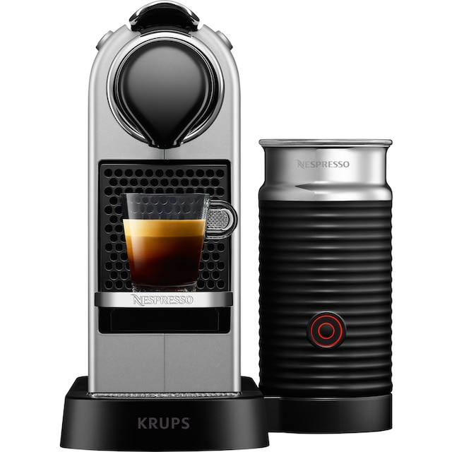 Nespresso Kapselmaschine XN761B New CitiZ & milk