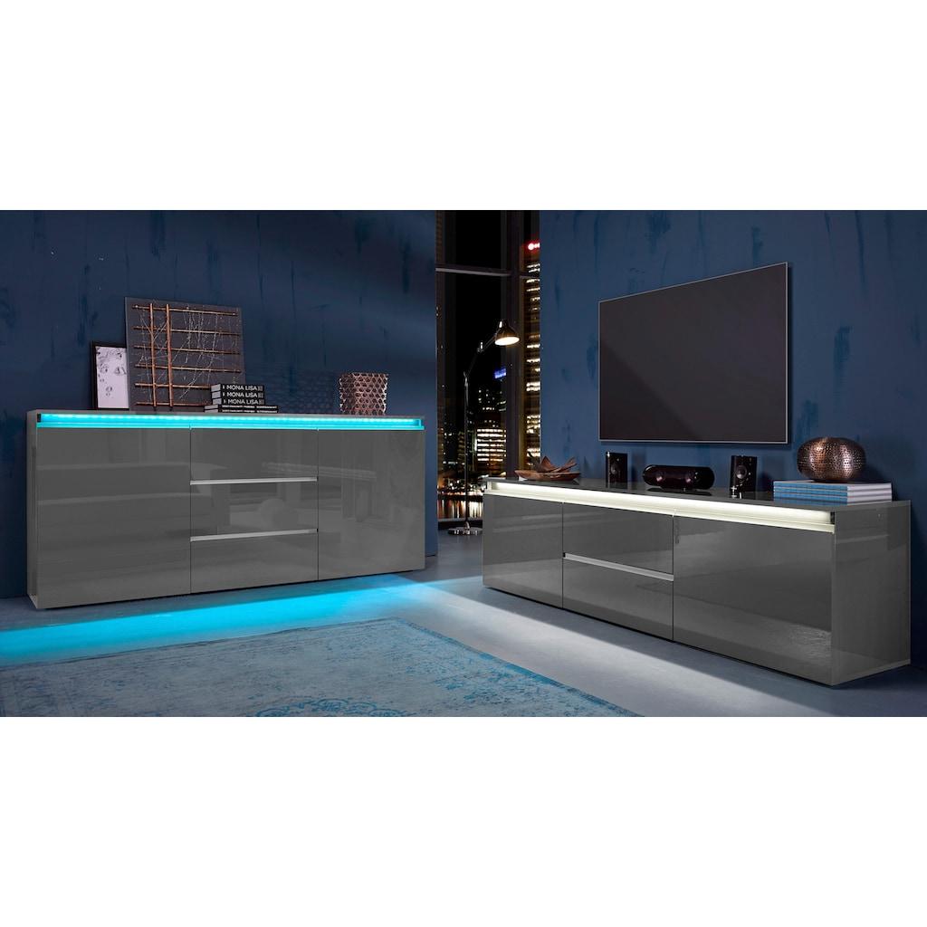 Tecnos Sideboard »Magic«, Breite 180 cm, ohne Beleuchtung