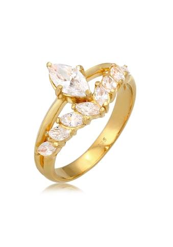 Elli Fingerring »Zirkonia Marquise 925 Silber« kaufen