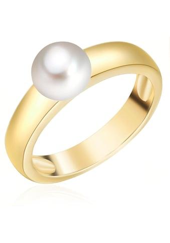 Valero Pearls Perlenring »A1508«, (1 tlg.), aus Süßwasser-Zuchtperlen kaufen
