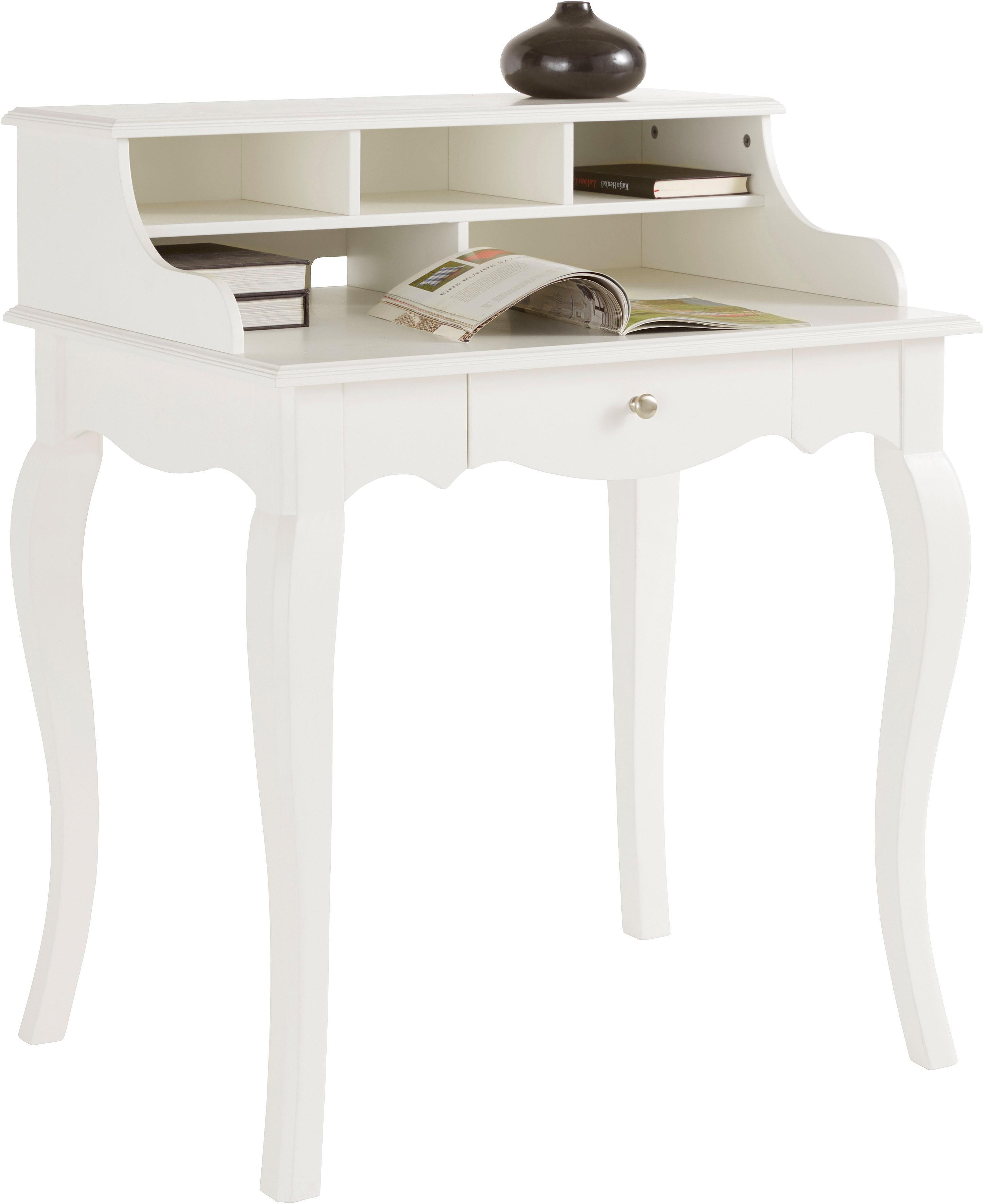 Home affaire Schreibtisch im Landhaus-Stil Breite 80 cm