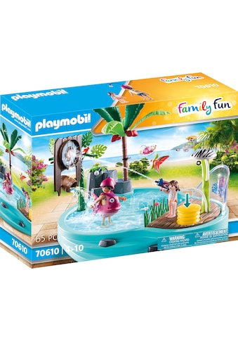 Playmobil® Konstruktions-Spielset »Spaßbecken mit Wasserspritze (70610), Family Fun«,... kaufen