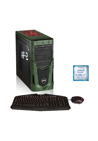 Hyrican Gaming PC i7 - 9700K, 32GB, SSD + HDD, GeForce RTX 2060 »Military Gaming 6318« kaufen