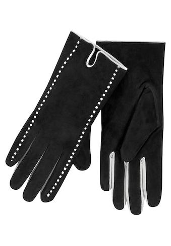 J.Jayz Lederhandschuhe, Velourslederhandschuhe, Fingerhandschuhe kaufen