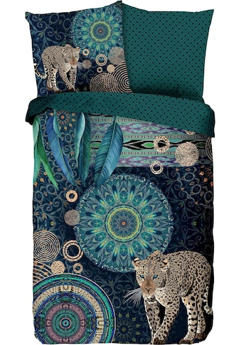 hip Wendebettwäsche »Imena«, mit Mandalas und Leopard kaufen