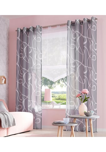 my home Raffrollo »Xanten«, mit Schlaufen kaufen