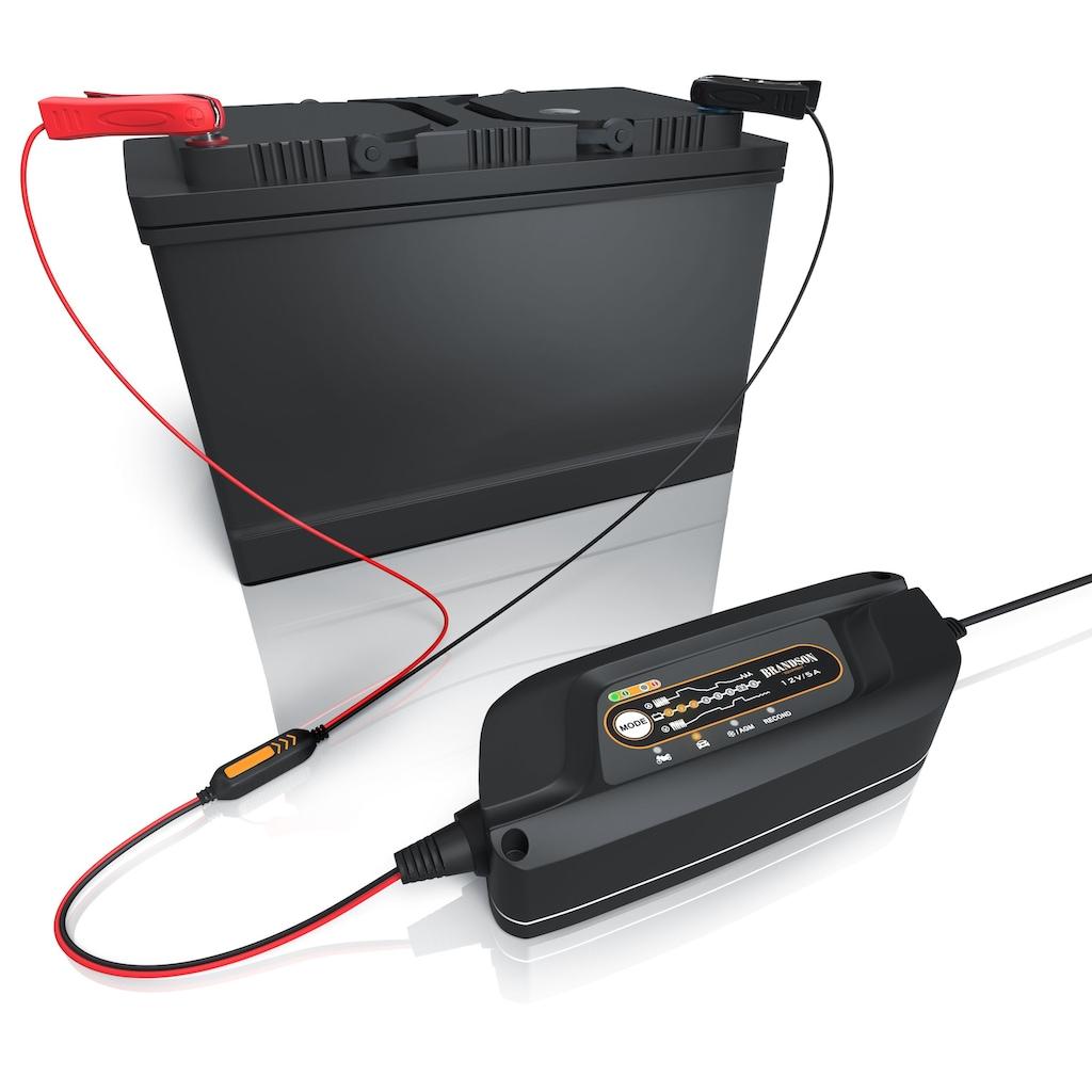 Brandson Autobatterie Ladegerät mit Rekonditionierungsmodus