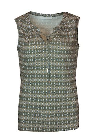 bianca Print-Shirt »MALINA«, mit Bändern am Ausschnitt kaufen