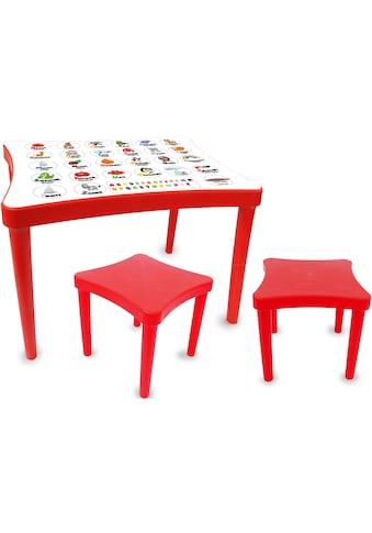 Jamara Kindersitzgruppe »Easy Learning, rot«, (3 tlg.) kaufen