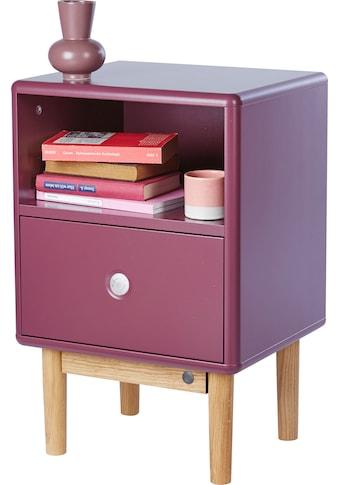 TOM TAILOR Nachtkommode »COLOR BOX«, mit 1 Schublade, mit Push-to-Open, Füße Eiche... kaufen