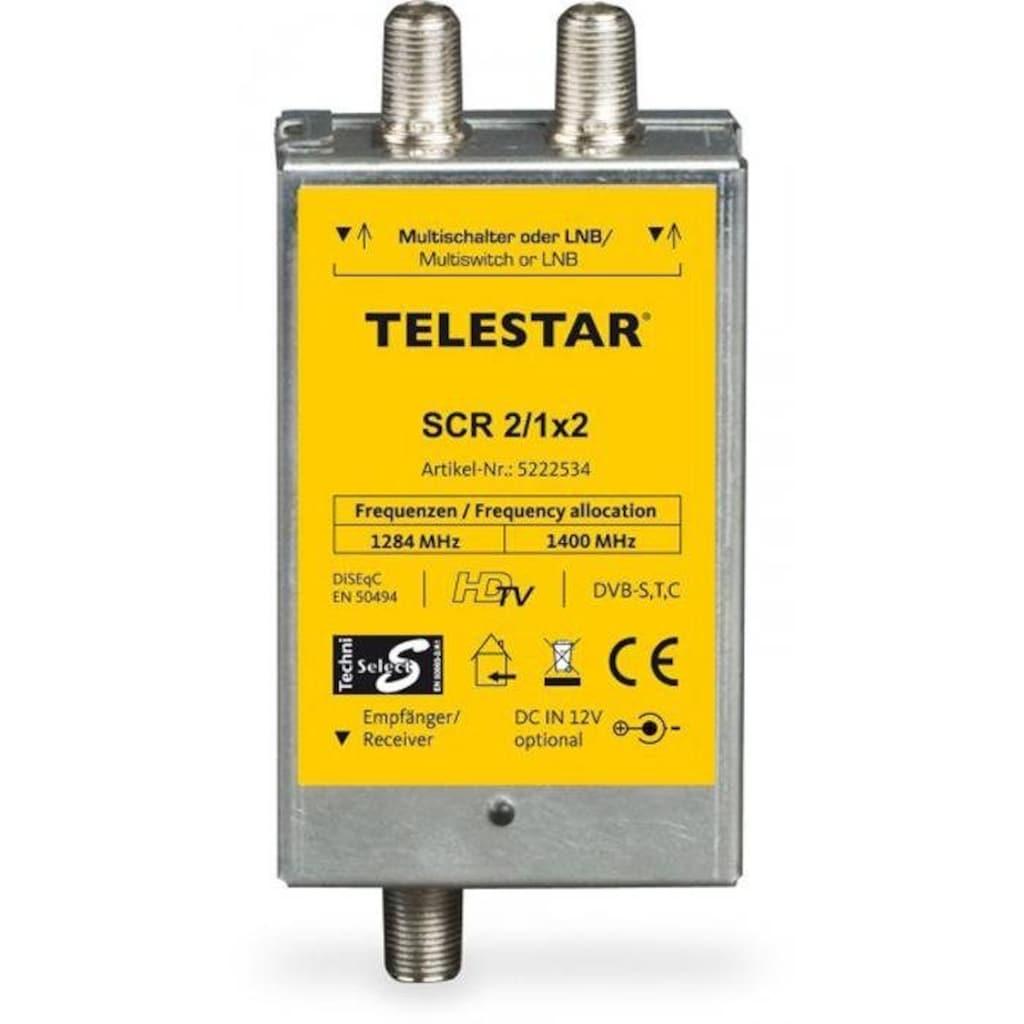 TELESTAR SAT-Verteiler »SCR 2/1x2«, Unicable