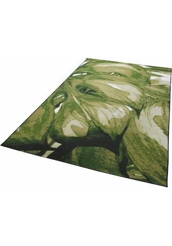 TOM TAILOR Teppich »Garden Palm«, rechteckig, 3 mm Höhe, Flachgewebe, In- und Outdoor... kaufen