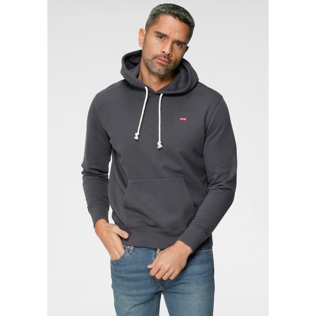 Levi's® Kapuzensweatshirt, mit kleinem Batwing-Logo