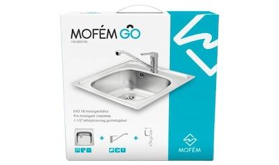 MOFÉM Küchenspüle »Evo 1B«, mit Pro - Spültischarmatur kaufen