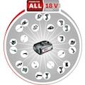 BOSCH Schlagbohrmaschine »AdvancedImpact 18«, (Set), QuickSnap, inkl. 2 Akkus