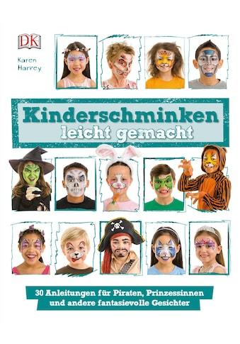 Buch Kinderschminken leicht gemacht / Karen Harvey kaufen