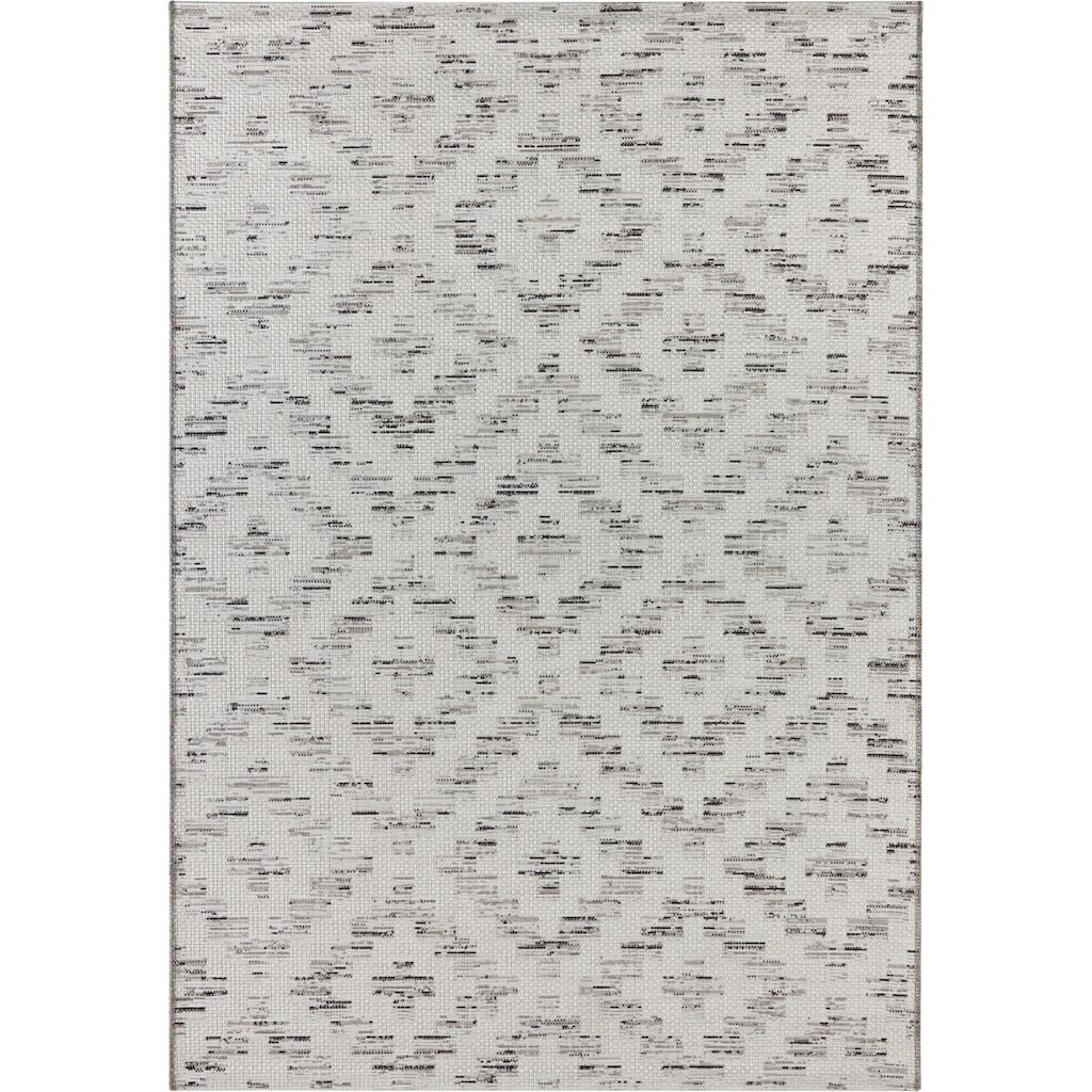 ELLE DECORATION Teppich »Creil«, rechteckig, 3 mm Höhe, In- und Outdoorgeeignet, Wohnzimmer
