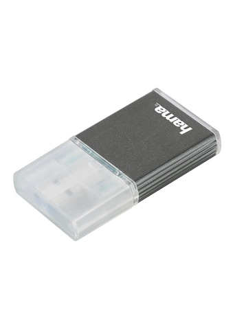 Hama USB-3.0-UHS-II-Kartenleser, SD, Alu, Anthrazit kaufen