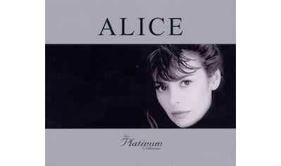 Musik-CD »PLATINUM COLLECTION, THE / Alice« kaufen