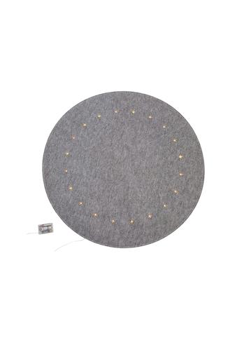 Baumteppich, »Filzoptik«, , rund, Höhe 4 mm kaufen