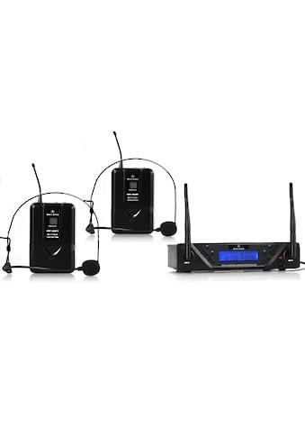 Malone UHF Funkmikrofon Set 2 Kanal »UHF 450 Duo2« kaufen
