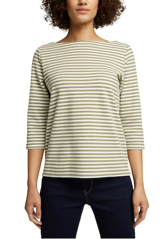 Esprit Sweatshirt, im tollen Ringel-Look und mit 3/4 Arm kaufen