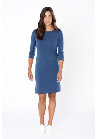 SUPER.NATURAL Sweatkleid »W COZY DRESS«, bequemer Merino-Materialmix kaufen