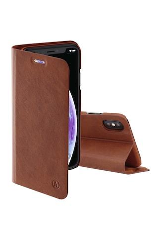 """Hama Booklet """"Guard Pro"""" für Apple iPhone X/Xs, Braun kaufen"""