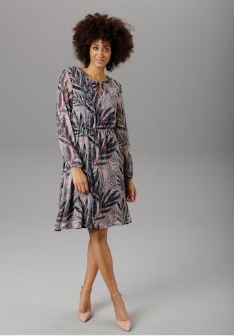 Aniston SELECTED Chiffonkleid, im modischen Jungle Print kaufen