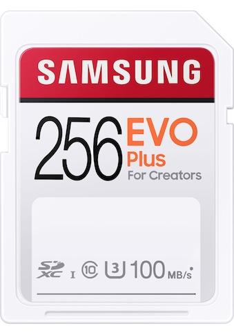 Samsung Speicherkarte »EVO Plus 256GB SDXC UHS-I U3«, (UHS Class 3 100 MB/s... kaufen