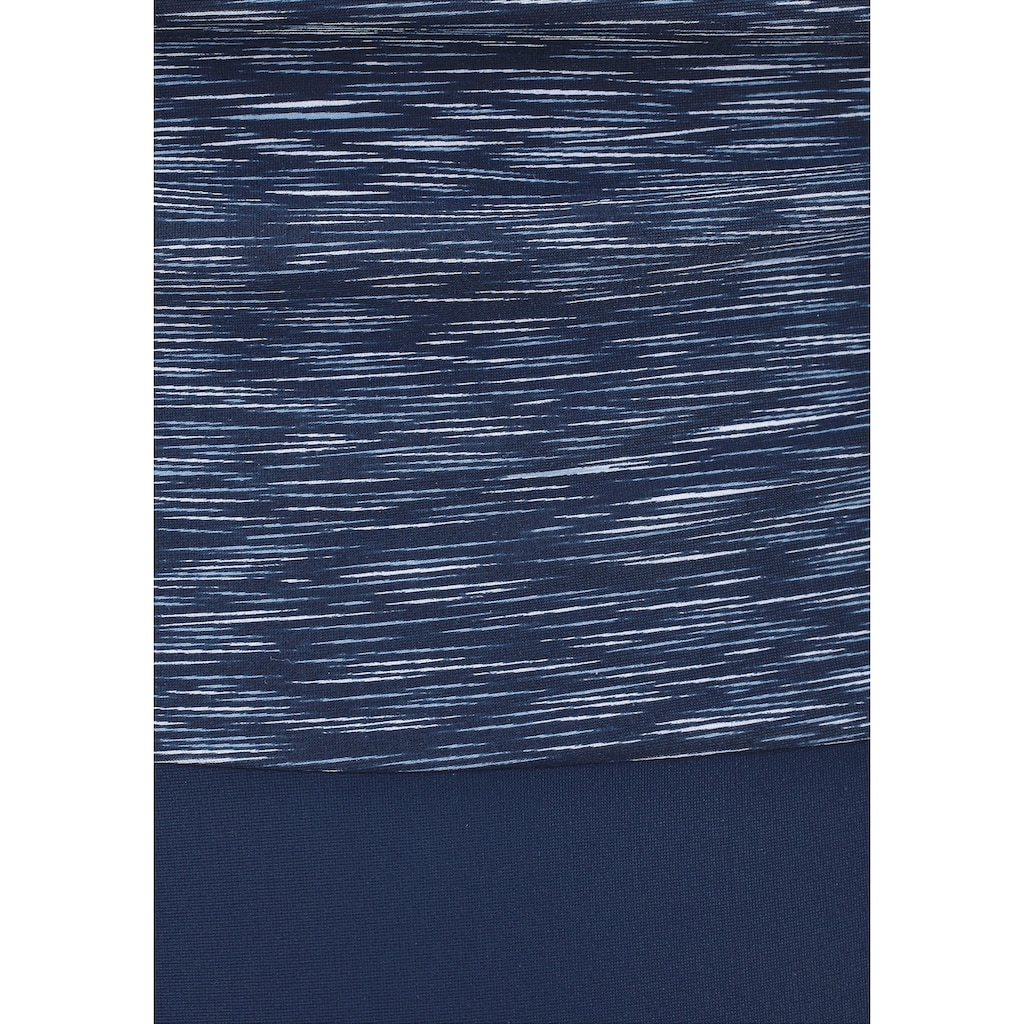 KangaROOS Badeanzug, in Melange- Optik