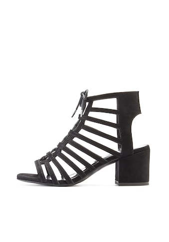 LASCANA Sandalette, aus Velourslederimitat mit Blockabsatz kaufen