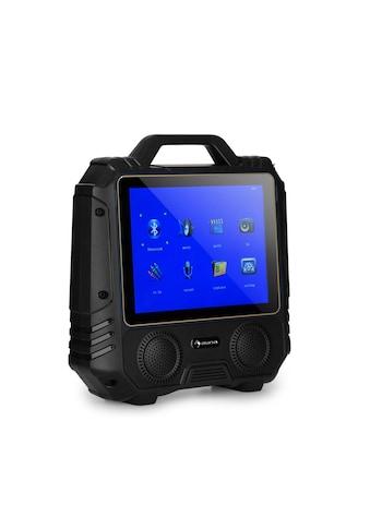 Auna Mobiler Karaoke Lautsprecher Karaokeanlage Display Mikrofon 30W »CenterStage 4« kaufen