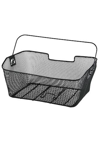 Hama Fahrradkorb für Gepäckträger hinten, abnehmbar, engmaschig »40 x 30 x 19 cm groß, Metall« kaufen