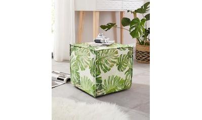 Home affaire Hocker »Cocoon Jungle« kaufen