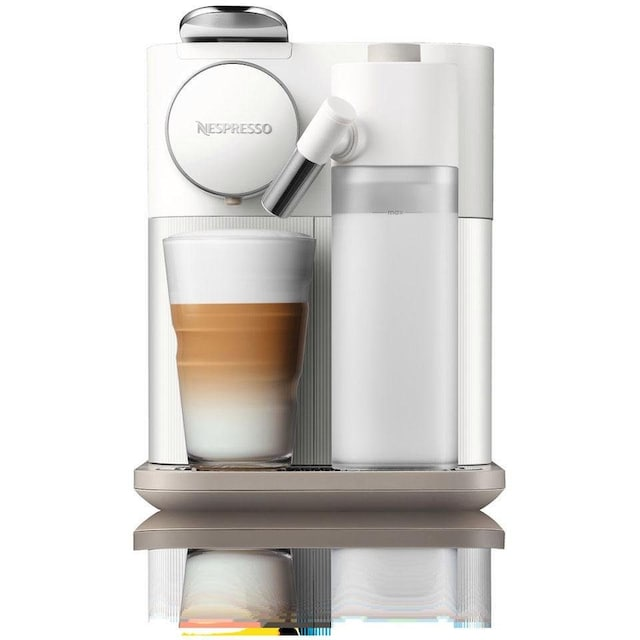 Nespresso Kapselmaschine Distinta Moments,Gran Lattissima EN 650.W – Sunshine White
