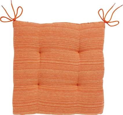 oranges Sitzkissen