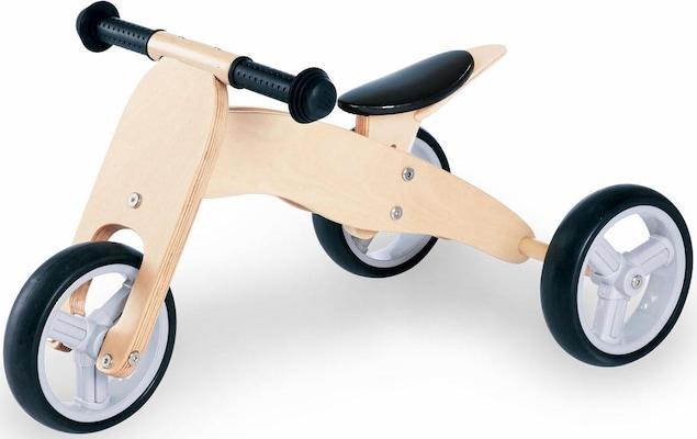 Laufrad mit Holzrahmen