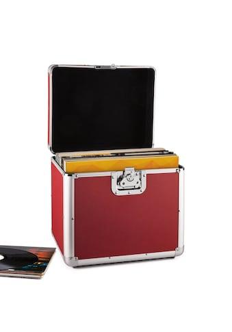 resident dj Aluminium - Plattenkoffer Vinyl - Case 70 Stück LP rot »Zeitkapsel« kaufen