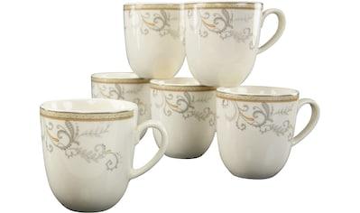 CreaTable Tasse »Villa Medici«, (Set, 6 tlg.), 6-teilig kaufen