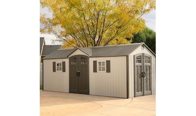 Lifetime Gerätehaus »Makro«, inkl. Fußboden, Regale und Werkzeugtasche kaufen