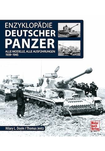 Buch »Enzyklopädie deutscher Panzer / Hilary Louis Doyle, Thomas L. Jentz« kaufen