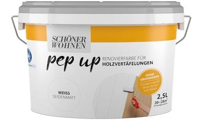 SCHÖNER WOHNEN-Kollektion Lack »pep up - weiß«, seidenmatt, für Holzvertäfelungen 2,5 l kaufen