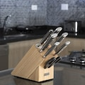 Klarstein Messerset 8-teilig Schere Wetzstahl Messerblo »Katana«