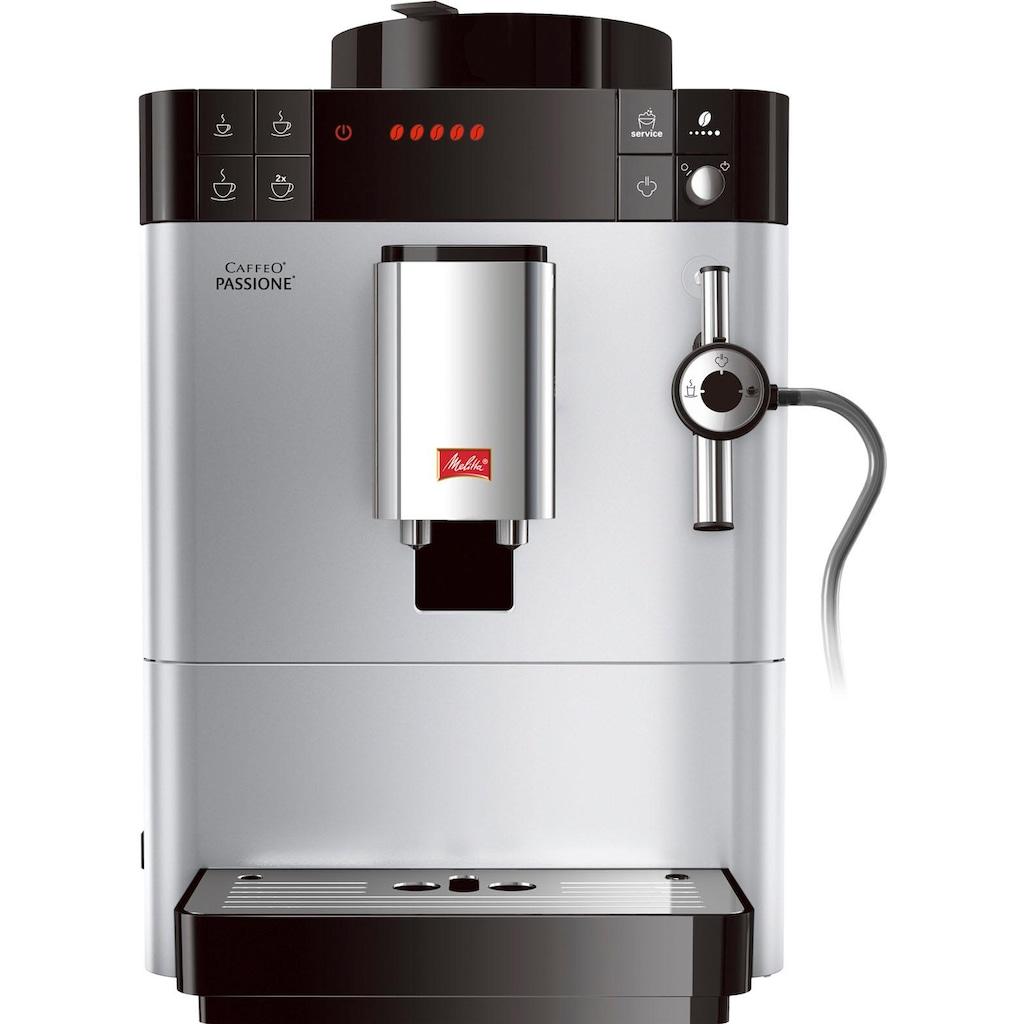 Melitta Kaffeevollautomat »Passione F53/0-101«, silber
