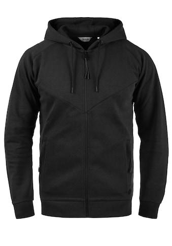Solid Kapuzensweatjacke »Gelbert«, leichte Sweatshirtjacke mit sportlichen Details kaufen